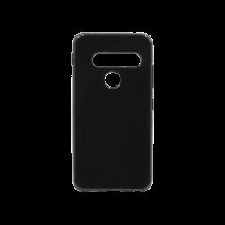 LG G8s ThinQ - Gumiran ovitek (TPU) - črn svetleč