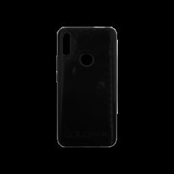 Huawei P Smart Z / Honor 9X - Gumiran ovitek (TPU) - črn svetleč