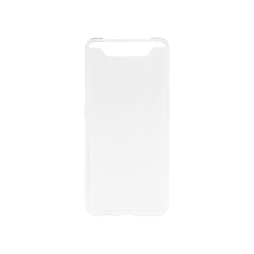 Samsung Galaxy A80 - Gumiran ovitek (TPU) - prosojen svetleč