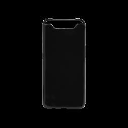 Samsung Galaxy A80 - Gumiran ovitek (TPU) - črn svetleč