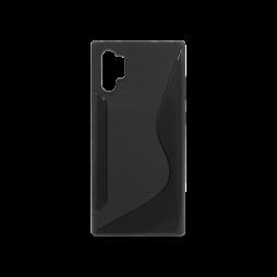 Samsung Galaxy Note 10+ - Gumiran ovitek (TPU) - črn CS-Type