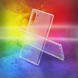 Samsung Galaxy Note 10 - Gumiran ovitek (TPUA) - prosojen