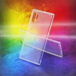 Samsung Galaxy Note 10+ - Gumiran ovitek (TPUA) - prosojen