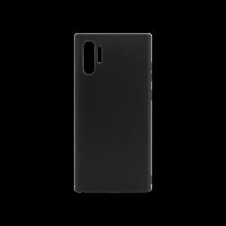 Samsung Galaxy Note 10+ - Gumiran ovitek (TPU) - črn MATT