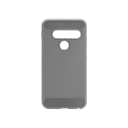 LG G8s ThinQ - Gumiran ovitek (TPU) - siv A-Type