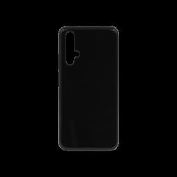 Huawei Honor 20 / Nova 5T - Gumiran ovitek (TPU) - črn svetleč