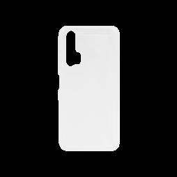 Huawei Honor 20 Pro - Gumiran ovitek (TPU) - belo-prosojen svetleč