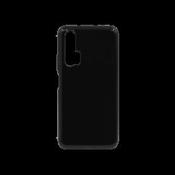 Huawei Honor 20 Pro - Gumiran ovitek (TPU) - črn svetleč