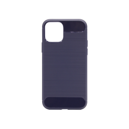 Apple iPhone 11 - Gumiran ovitek (TPU) - moder A-Type