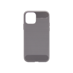 Apple iPhone 11 - Gumiran ovitek (TPU) - siv A-Type