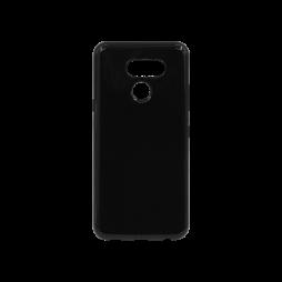 LG K50 - Gumiran ovitek (TPU) - črn svetleč
