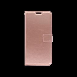 Huawei P Smart Z / Honor 9X - Preklopna torbica (WLC) - roza-zlata