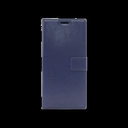 Samsung Galaxy Note 10+ - Preklopna torbica (WLC) - modra