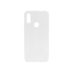 Xiaomi Redmi 7 - Gumiran ovitek (TPU) - belo-prosojen svetleč