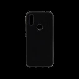 Xiaomi Redmi 7 - Gumiran ovitek (TPU) - črn svetleč