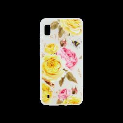 Samsung Galaxy A10 - Gumiran ovitek (TPUP) - Yellow Roses