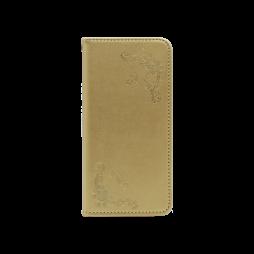 Samsung Galaxy A20e - Preklopna torbica (WLGO-Butterfly) - zlata
