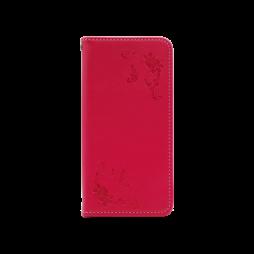 Samsung Galaxy A40 - Preklopna torbica (WLGO-Butterfly) - rdeča