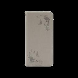 Samsung Galaxy A40 - Preklopna torbica (WLGO-Butterfly) - siva