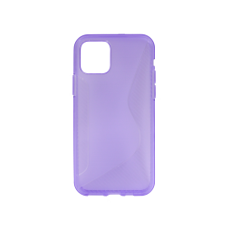 Apple iPhone 11 Pro - Gumiran ovitek (TPU) - vijolično-prosojen CS-Type
