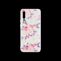 Samsung Galaxy A70 - Gumiran ovitek (TPUP) - Pink Roses