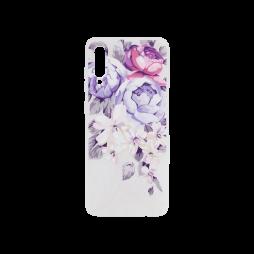 Samsung Galaxy A70 - Gumiran ovitek (TPUP) - Purple Roses