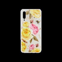 Samsung Galaxy A70 - Gumiran ovitek (TPUP) - Yellow Roses