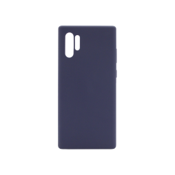 Samsung Galaxy Note 10+ - Silikonski ovitek (liquid silicone) - Soft - Midnight Blue