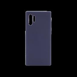 Samsung Galaxy Note 10+ - Silikonski ovitek (liquid silicone) - Soft - Midnight Blue