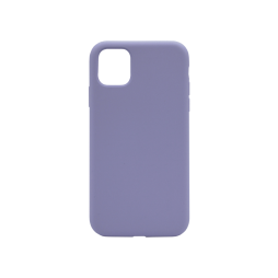 Apple iPhone 11 Pro - Silikonski ovitek (liquid silicone) - Soft - Lavender Gray