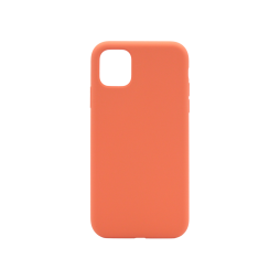 Apple iPhone 11 Pro - Silikonski ovitek (liquid silicone) - Soft - Nectarine