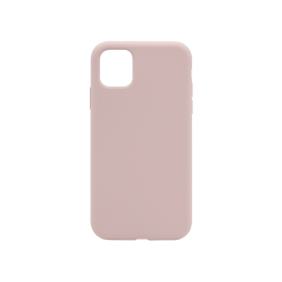 Apple iPhone 11 Pro - Silikonski ovitek (liquid silicone) - Soft - Pink Sand