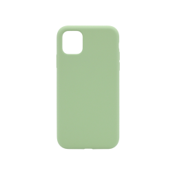 Apple iPhone 11 - Silikonski ovitek (liquid silicone) - Soft - Mint Green