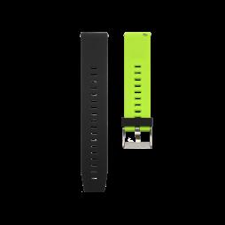 Silikonski pašček V13 (20mm) - črno zelen