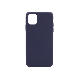 Apple iPhone 11 Pro - Silikonski ovitek (liquid silicone) - Soft - Midnight Blue