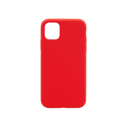 Apple iPhone 11 Pro - Silikonski ovitek (liquid silicone) - Soft - Red