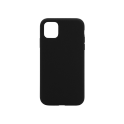 Apple iPhone 11 Pro Max - Silikonski ovitek (liquid silicone) - Soft - Black