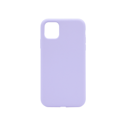 Apple iPhone 11 Pro Max - Silikonski ovitek (liquid silicone) - Soft - Lilac Purple
