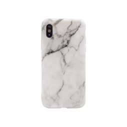 Apple iPhone X/XS - Gumiran ovitek (TPUP) - Marble 5