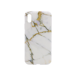Apple iPhone X/XS - Gumiran ovitek (TPUP) - Marble 7
