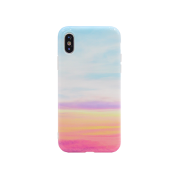 Apple iPhone X/XS - Gumiran ovitek (TPUP) - Marble 9