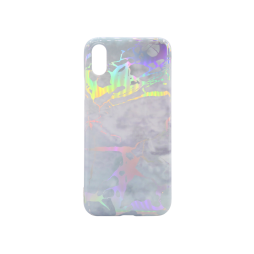 Apple iPhone X/XS - Gumiran ovitek (TPUP) - Marble 11