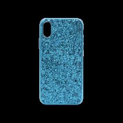Apple iPhone X/XS - Gumiran ovitek (TPUEB) - modra
