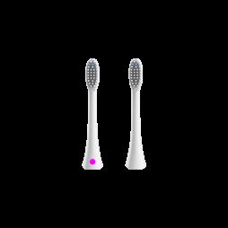 Nastavek za pametno sonično zobno ščetko 1741 2 kosa - roza in bel