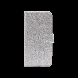 Apple iPhone X/XS - Preklopna torbica (WLGB) - srebrna