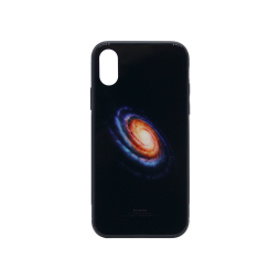 Apple iPhone X/XS - Ovitek iz gume in stekla (TPUG) - Galaxy