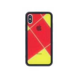 Apple iPhone X/XS - Ovitek iz gume in stekla (TPUG) - Red Net
