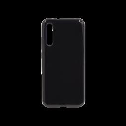 Xiaomi Mi A3 - Gumiran ovitek (TPU) - črn svetleč