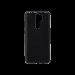 Xiaomi Redmi Note 8Pro - Gumiran ovitek (TPU) - črn svetleč