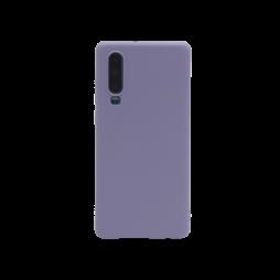 Huawei P30 - Silikonski ovitek (matt) - Soft - Lavender Gray